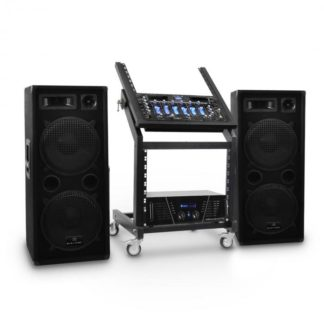 Hangtechnika Electronic-Star Rack Star Series Mars Flash DJ PA szett