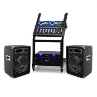 Hangtechnika Ibiza Rack Star Series Uranus Blues PA szett