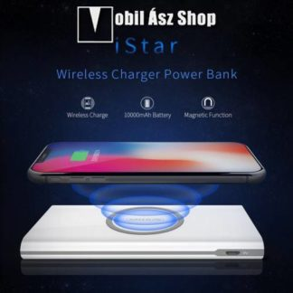 NILLKIN iStar vésztöltő töltő / hordozható töltő / QI Wireless hálózati töltő állomás - 10000mAh